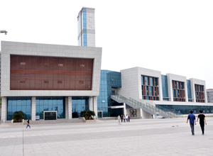 重庆水利电力职业技术学院新校区图书馆
