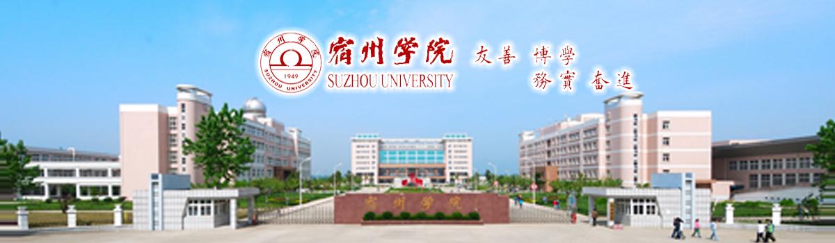 宿州学院2020年高层次人才公开招